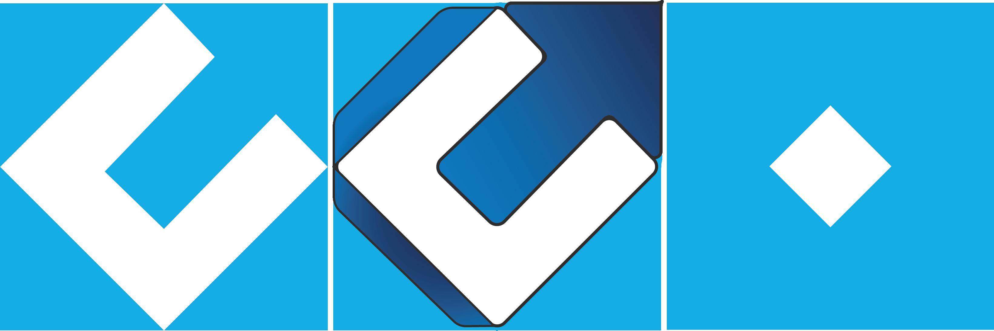 Les diverses itérations du logo